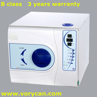 12Liters tatoo medical steam sterilizer autoclave Europe B class with CE ISO 13485 3 years warranty