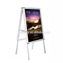 aluminum snap frame surpost detachable, replaceable picture display stands