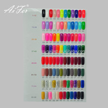 New Arrival Fashionable 96 Colors Soak Off 15 Ml UV Led Gel Polish 3 Step Nail Gel Polish
