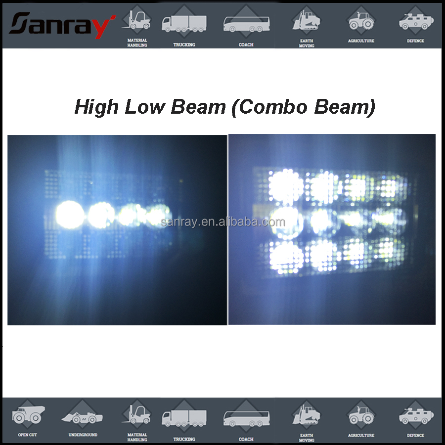 Hi lo beam water intrusion radio interference EMC jd LED Headlight for caseih combines