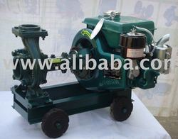 Portable Air Cooled Diesel Engine Pump Set