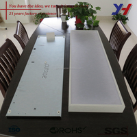 OEM ODM Customized Aluminum indoor led ceiling lamp panel light frame