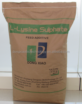 China Lysine Sulphate 70%/Dongxiao Biotechnology
