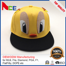 New Style High Quality Blank Hip-Hop Snapback Hats 5 Panel Camp Cap
