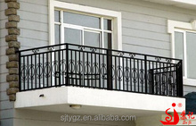 Practical wrought iron balcony railing for sale