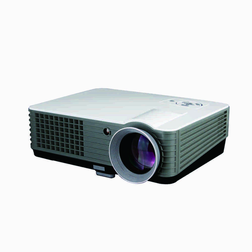 Full HD 3D LED high brightness home theater projector, android phone projector