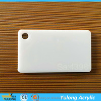 virgin material white color acrylic sheet for decoration