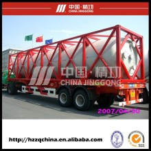 Custom JINGGONG 40 feet iso tank container with price