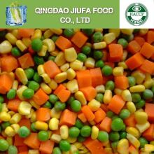 Frozen Three Variety Mixed Vegetables Import Green Pea