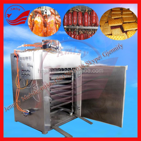 Commercial Smoking Meat/Sausage/Ham Oven Meat Smoking Machine