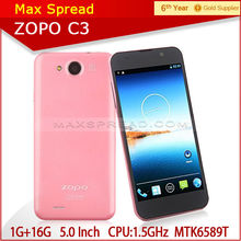 alibaba express zopo c3 FHD screen Quad core 1gb ram Android 4.2 celular smartphone c3