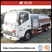 Directly factory stainless steel refuel truck tank for dispensing oil