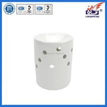 2016 Eco-Friendly Elegant White Indoor Ceramic Incense Oil Burners for home decoration