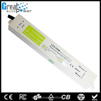 12V 10W Waterproof Electronic LED Driver