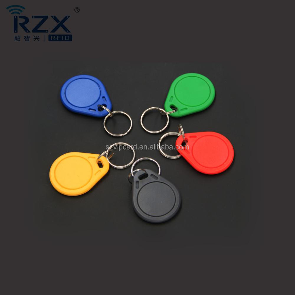 Custom ABS 125khz RFID Proximity Key fobs / Key Tags for Hotel and Dorm Door Lock System