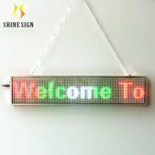 RGB Programmable LED Scrolling Moving Message Sign Display Board advertise