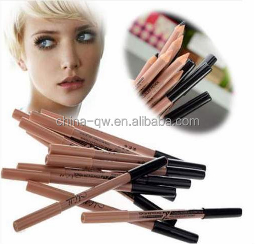 Menow P09015 cosmetic dual head eyebrow and concealer pencil