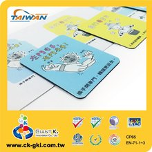 Waterproof custom shaped magnetic fridge sticker