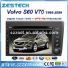 Zestech China Factory CAR RADIO /DVD WITH GPS FOR VOLVO S60 / V70 GPS NAVIGATION SYSTEM