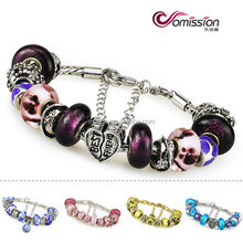 mexican beaded bracelets handmade colorful high quality glass beads bracelets fit European style glass beads bracelets