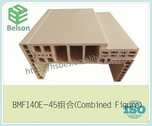 WPC material frame,which is famous combined with wood door&mdf interior door