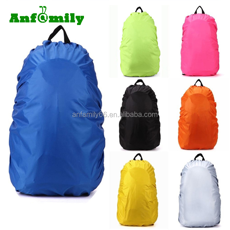 Protable Waterproof Backpack Bag Dust Rain Cover For Travel Camping Hiking Cycling Outdoor Tool Nylon Rain Bag cover