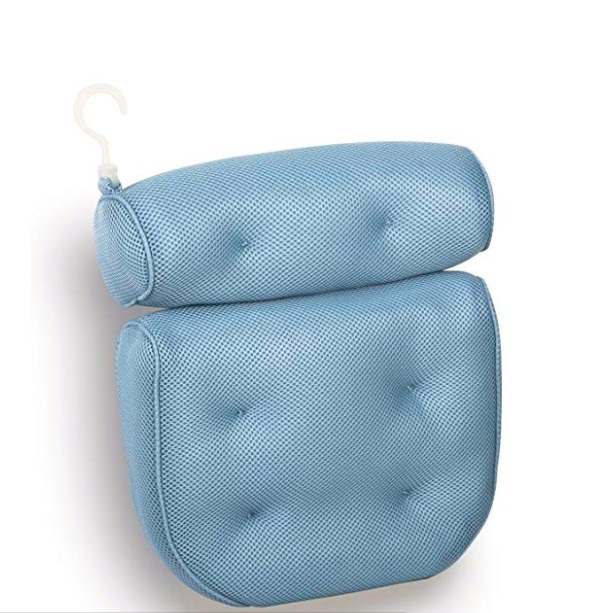 Non-Slip Extra Thick Magnetic Bath Pillow