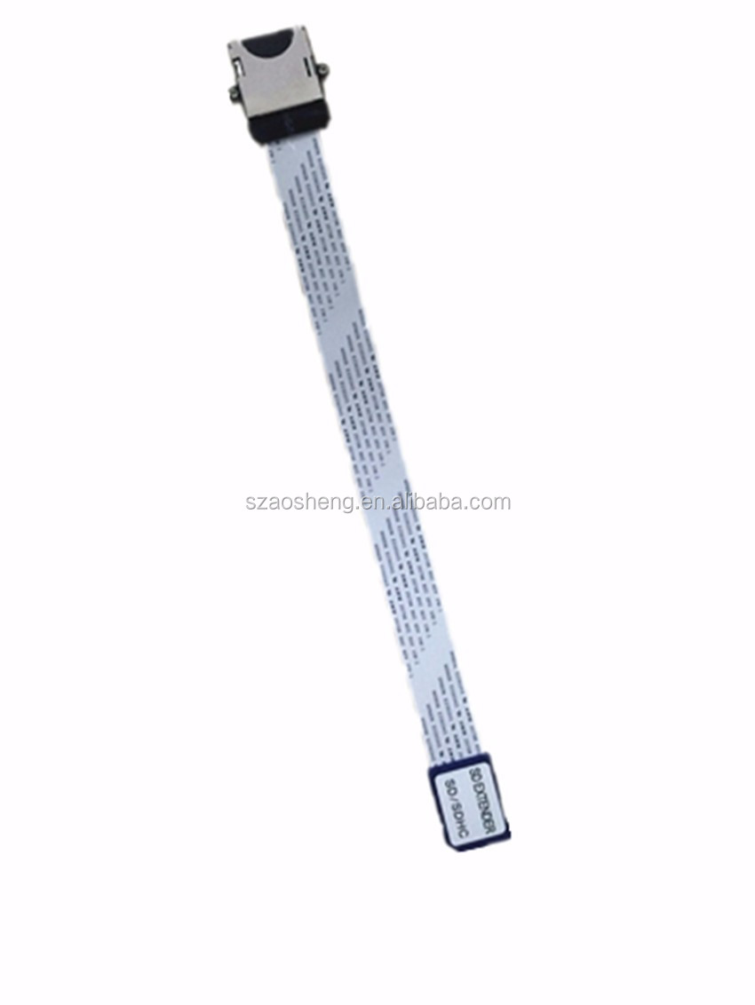 Screw hole SD to SD Card Reader Extension Cable AS-60-1 FFC