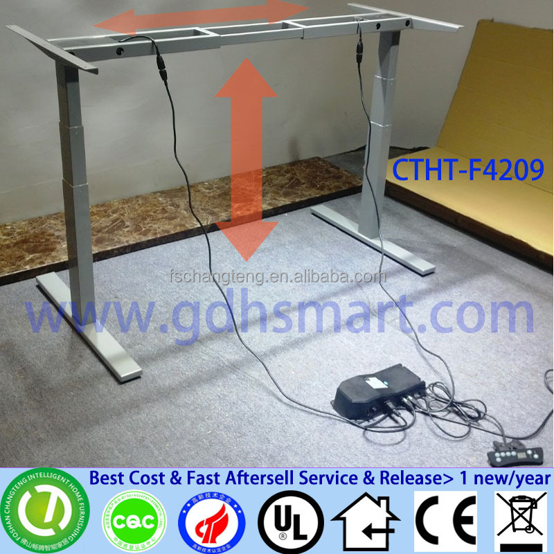 stainless steel table frame height adjustable office table leg frame table base
