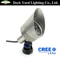 Low Voltage RGB IP68 Under water light with multi-color cheap led landscape lights with 12v outdoor landscape lighting