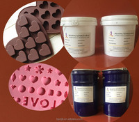 liquid silicone rubber price of silicone rubber silicone mold Chocolate Candy Food Models China supplier