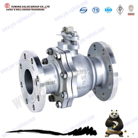 2pc Stainless Steel Flange Type Floating