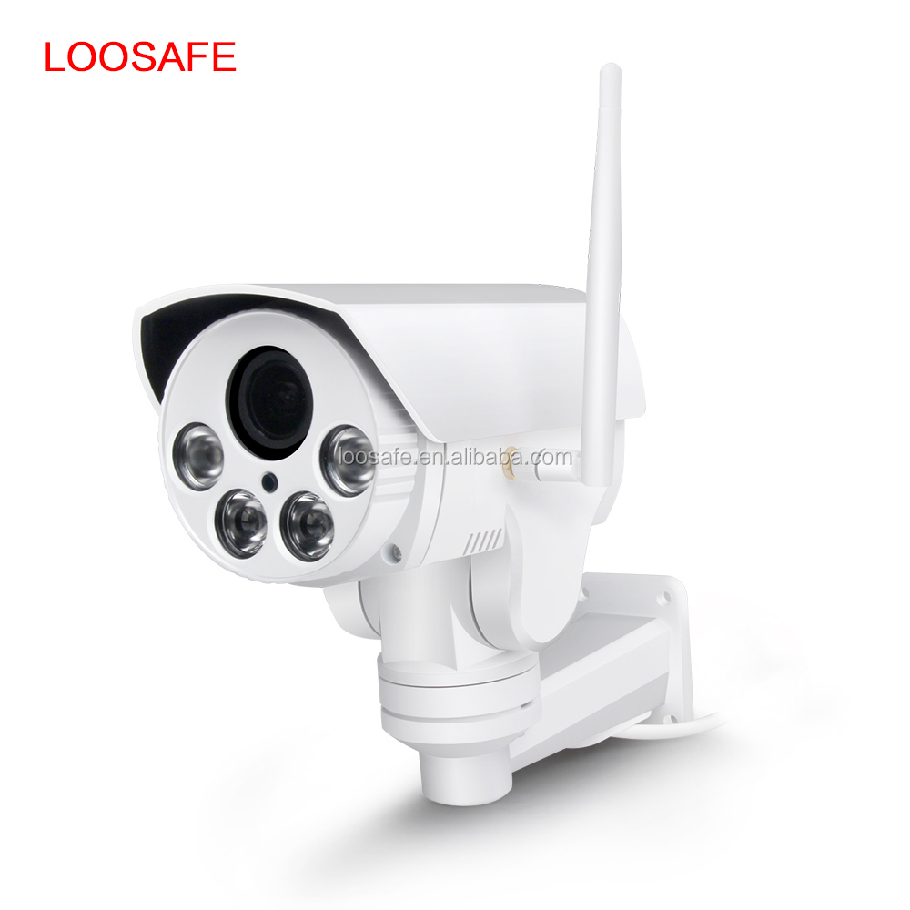 Economic Mini PTZ Outdoor IP66 waterproof 4X optical zoom 960P 1.3MP IP PTZ camera day night vision