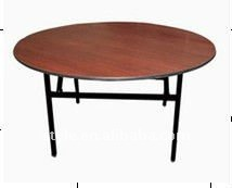 72 inch round folding tables for hotel banquet E-005