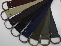 Environmental Cotton webbing belt for garment
