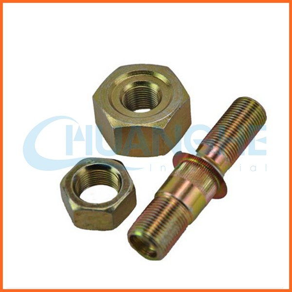 Chinese supplier custom cnc track shoe bolts nuts