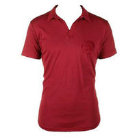 10% cotton red R/N t-shirts