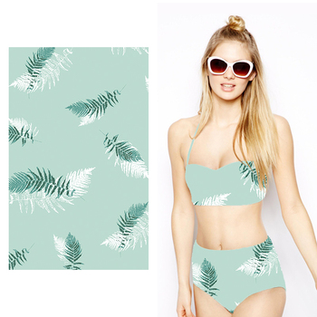 88% Polyester 12%Spandex Elastic Breathable Stretch Swimwear Fabric