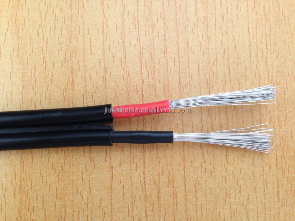Cables for solar radio 1.8kv 2x4mm dc solar cable