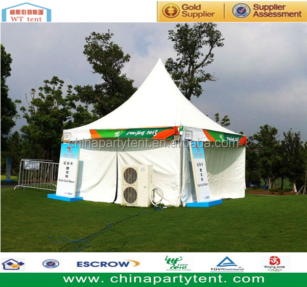 High peak 20 x 20 canopy tent, square tent
