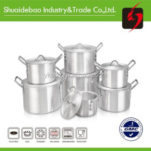 Shuaidebao most popular aluminum sanding pot good kitchen utensil