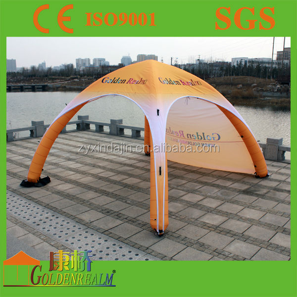 3x3 powder coating steel advertising folding tent