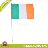 Popular for the market factory directly wholesale beach flag drop