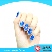 NFC Nail Sticker With LED Light Flash Affixed Scintillation colourful beauty
