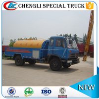 Hot Sale Dongfeng 4x2 8000L Capacity High Pressure Water Jetting Truck price cheap