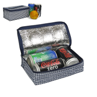 Good thermal effect lunch cooler bag with frozen bottle holder