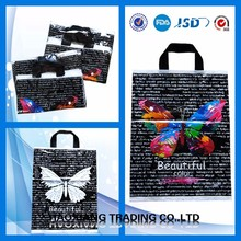 High Qulity Colourful Fantastic Promotional plastic bags for baby clothes shopping plastic bags