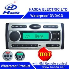 "Boat audio DVD with 3.5"" TFT screen and radio used in boat,yacth, Sauna room,bathroom,runabout,Hasda H-3008T"