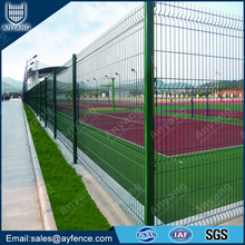 Powder Coated Welded Wire Mesh Fence for School
