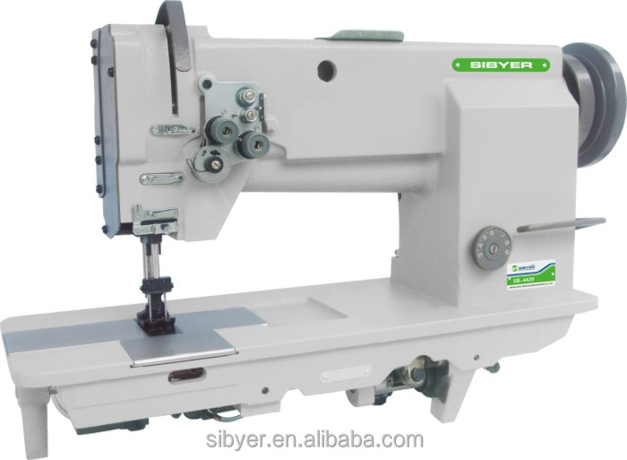 4420 double needle heavy duty lockstitch sewing machine suit for sewing kinds of heavy duty material
